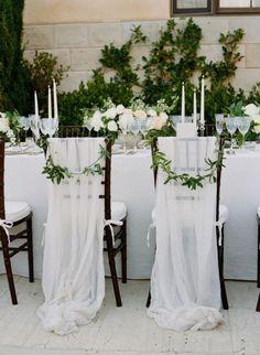 Toma nota de estas ideas de decoración de sillas para boda Image: 5