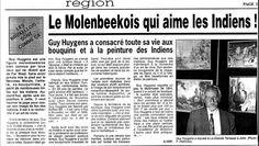 Le Mokenbeekois qui aime les Indiens