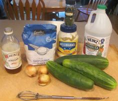 Creamy Cucumber Salad With Mayo and Vinegar | Delishably