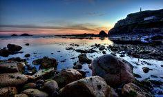 Last light - Cape Cornwall   Cornwall Guide