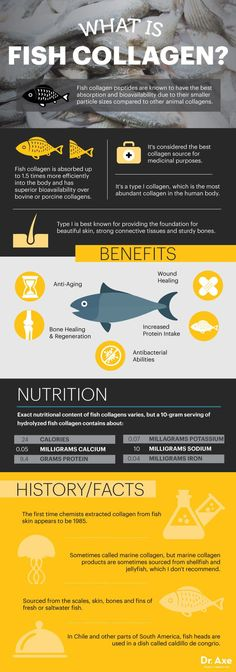 What is fish collagen? - Dr. Axe http://www.draxe.com #health #holistic #natural