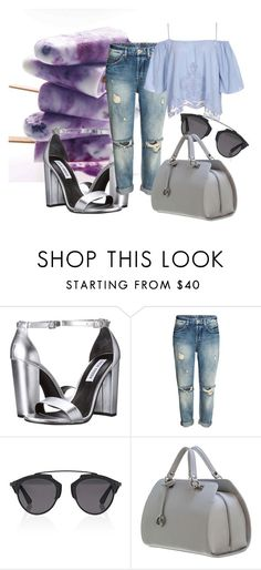 """""""iced lollipop"""" by valvybes on Polyvore featuring Steve Madden and Christian Dior"""