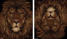 Lion Mouse (digital artwork)