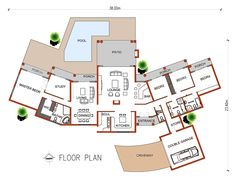 South African House Plans For Sale House Plans For Sale, House Plans With Photos, Garage Floor Plans, Bedroom Floor Plans, Affordable House Plans, Affordable Housing, African House, Double Garage, Bedroom Flooring
