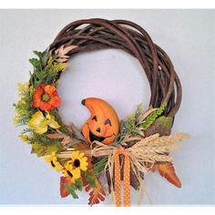 Grapevine Wreath, Grape Vines, Wreaths, Fall, Decor, Autumn, Decoration, Door Wreaths, Fall Season