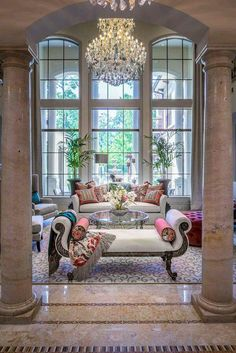 Luxury Living - Luxury Homes Luxury Interior, Home Interior Design, Luxury Decor, Interior Decorating, Formal Living Rooms, Living Spaces, Living Area, Living Room Designs, Living Room Decor