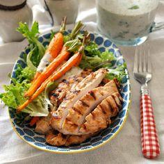 cool Grilled Garlic & Buttermilk Chicken