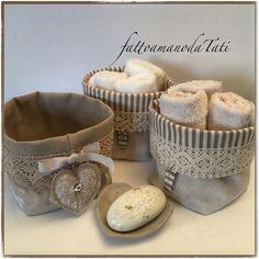 Cestini portatutto o con lavette by fattoamanodaTati