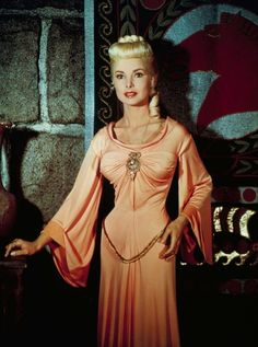 """Janet Leigh - """"Prince Valiant"""" (1954) - Costume designer : Charles Le Maire"""
