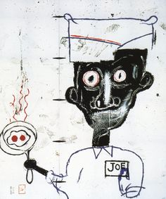 Basquiat / Eyes & Eggs