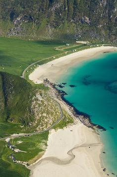 Haukland beach, Norway