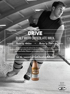 How chocolate milk went from junk food to the beverage of champions