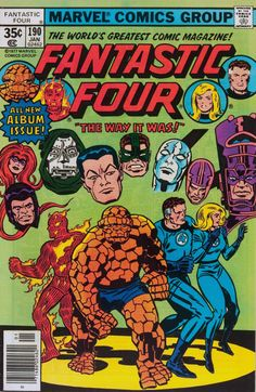 Fantastic Four #190 •Jack Kirby and Frank Giacoia, 1978