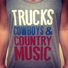 Country Shirts! Country Tanks! Trucks, Cowboys Country Music Tank in red, white blue colors for $19.99!! Check out jdishdesigns.com for more country shirts! #truckscowboysandcountrymusic #beercowboysandcountrymusic #countrymusic #beer #cowboys #country #countrytanks #countryshirts #stagecoach #countrythunder #blake #blaketanks #glittertanks #countrytheme #cowboyboots #cowgirls #redwhiteandblue #USA #americashirts #americatanks