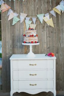 Wedding cake display...