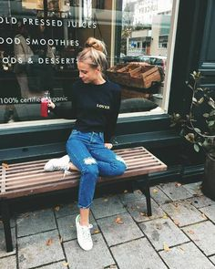 Latest Fashion Trends - This casual outfit is perfect for spring break or the summer. The Best of casual outfits in - Daily Fashion Outfits Street Style Outfits, Mode Outfits, Fall Outfits, Casual Outfits, Summer Outfits, Tomboy Outfits, Fashion Outfits, Fasion, Looks Style