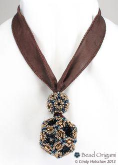 Bead Origami: superduo beads