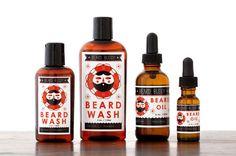 This All-Natural Beard Shampoo Uses Essential Oils to Ensure Proper Care #movember trendhunter.com