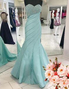 Luxurious Mermaid Long Prom Dress Prom Dress, Light #prom #promdress #dress #eveningdress #evening #fashion #love #shopping #art #dress #women #mermaid #SEXY #SexyGirl #PromDresses