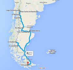 Mon itinéraire en auto-stop en Argentine, à travers la Patagonie. Trois semaines, deux filles et beaucoup d'aventures. Itinéraire, conseils et retour d'expérience Ushuaia, Rio Grande, Road Trip, Argentine, Alaska, To Go, France, World, Places