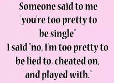 Fuck Relationships, I'm Single
