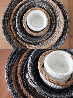 DIY Nesting Rope Bowls in Under 10 Minutes