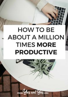 Seven tried and true productivity tips + a life-changing tip about how to write better to-do lists! Self Development, Personal Development, Rhetorical Question, How To Stop Procrastinating, Cool Writing, Time Management Tips, Work Life Balance, Life Advice, How To Stay Motivated