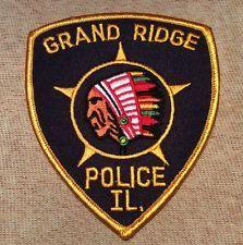 Grand Ridge Illinois Police Patch