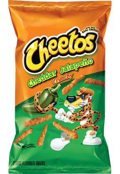 CHEETOS® Crunchy Cheddar Jalapeño Cheese Flavored Snacks