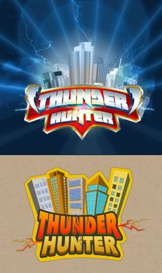 Games Logos by Shabi Mohmed, via Behance