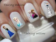 Hey, I found this really awesome Etsy listing at https://www.etsy.com/listing/184593241/disney-frozen-youth-nail-decals