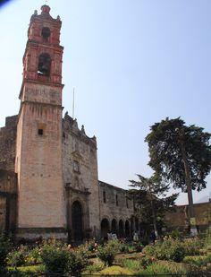 Tlalmanalco, Estado de México. Iglesia de San Luís Obispo