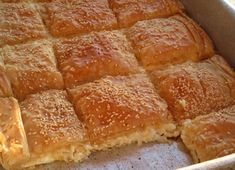 Pastry Recipes, Cookbook Recipes, Cooking Recipes, The Kitchen Food Network, Cheese Pies, Sweet Pastries, Greek Recipes, Healthy Dinner Recipes, Delicious Recipes