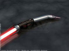 denDAY04's Lightsaber Request by JamesVillanueva.deviantart.com on @deviantART