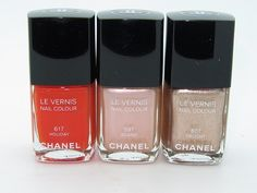 Chanel Le Vernis Nail Colour Summer 2012 Delight, Holiday, Island