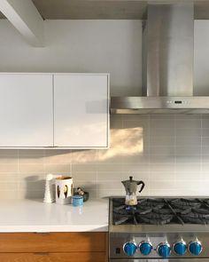 Fireclay Tile, Backsplash, Tiles, Kitchen Cabinets, Home Decor, Instagram, Room Tiles, Decoration Home, Room Decor