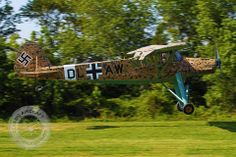 Fieseler Storch using its desert camouflage