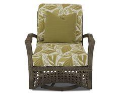 Klaussner Outdoor Outdoor/Patio Amure Swivel Glider Chair W1300 SGC - Klaussner Outdoor - Asheboro, NC