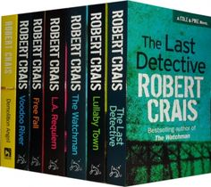 C and I ADORE Robert Crais's work. Favorite Robert Crais book: The Watchman. Seriously. Try to resist Joe Pike.