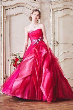 no.23755 - COLOR   新宿でウェディングドレスをレンタルするならブライダルサロンHANA