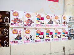 Kix Dreams Y2014 Q2 Street Poster Design & Production