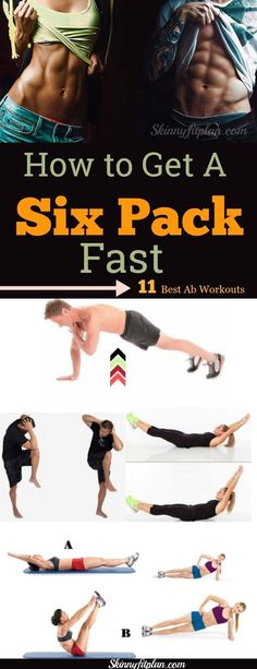to Get a Six Pack – 11 Best Ab Workouts How to Get a Six Pack. 11 Best Ab Workouts to 6 Pack in a Week at HomeHow to Get a Six Pack. 11 Best Ab Workouts to 6 Pack in a Week at Home 30 Day Ab Workout, Ab Workout With Weights, Workout For Flat Stomach, Best Ab Workout, Abs Workout Routines, Abs Workout For Women, Workout For Beginners, Fun Workouts, At Home Workouts