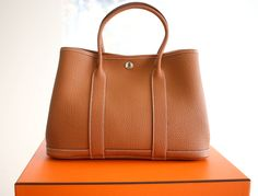 Hermes Garden Party, Hermes Birkin, Purse Wallet, Bucket Bag, 30th, My Style, French Style, Purses, Bags