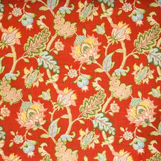 The D4990 Poppy premium quality upholstery fabric by KOVI Fabrics features Floral Print Pattern pattern and Pink Red as its colors. It is a Prints Linen type of upholstery fabric and it is made of 55% Linen 45% Rayon material. It is rated Exceeds 15,000 Double Rubs Wyzenbeek Method which makes this upholstery fabric ideal for residential, commercial and hospitality upholstery projects. This upholstery fabric is 54.00 inches wide and is sold by the yard in 0.25 yard increments or by the roll.
