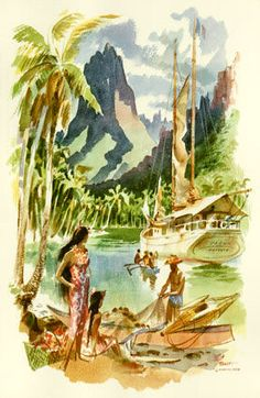 @Worldly Wee Ones Hawaii travel posters - Google Search