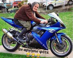 Biker Girl, Funny Stories, Bike Life, Funny Photos, Motorbikes, Jokes, Motorcycle, Photo And Video, Humor