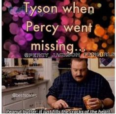This is so sad but I think it's true, I really hate the fact that percy never really mentions Tyson in HoO