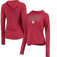 College-ncaa Activewear Tops Modest Colosseum Oklahoma Sooners Full Zip Athletic Jacket Womens Small Excellent