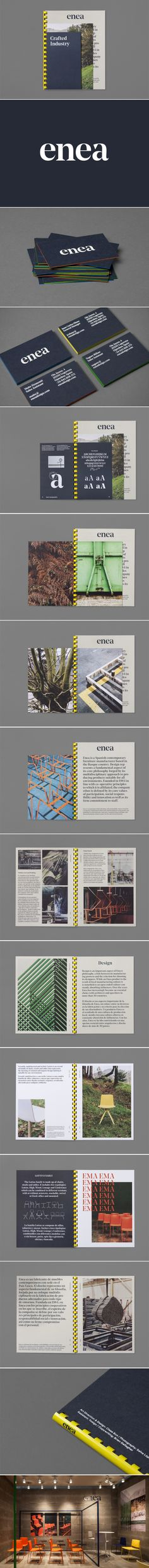 New Logo for Enea by Clase bcn — BP&O - created Map Layout, Print Layout, Layout Design, Print Design, Web Design, Graphic Design, Editorial Design, Editorial Layout, Brochure Inspiration
