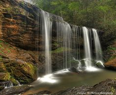 Brasstown Falls by Douglas McPherson Photography